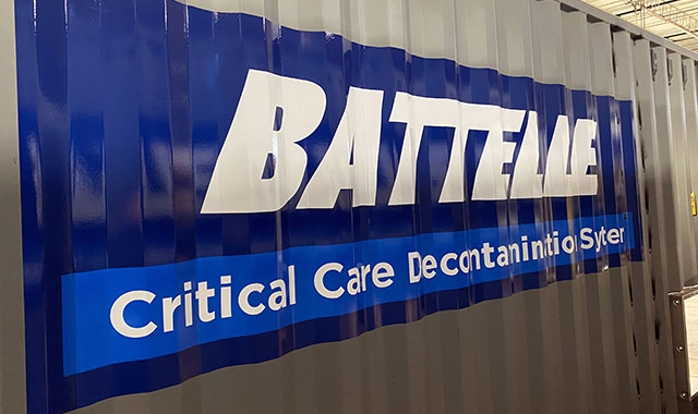 Battelle CCDS container