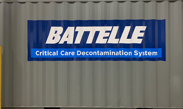 Battelle CCDS Critical Care Decontamination System