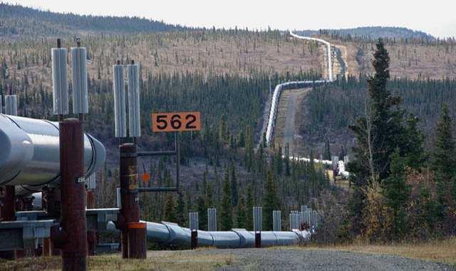 pipeline running outside