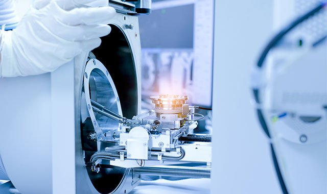 Photo: Engineer creating a medical device