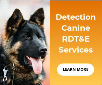 German Shepherd, Learn more about Detection Canine RDT&E Services