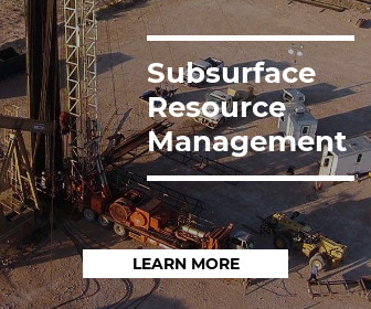 Learn more about Subsurface Resource Management